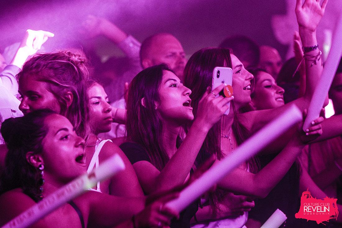 crowd enjoying the good music, EDX, June 22nd, Revelin Dubrovnik
