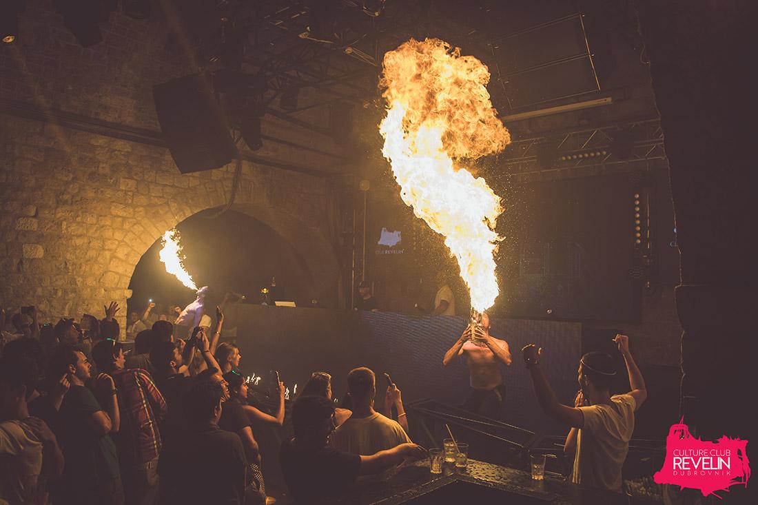 Fire show! Luminescence 04th of June, Revelin