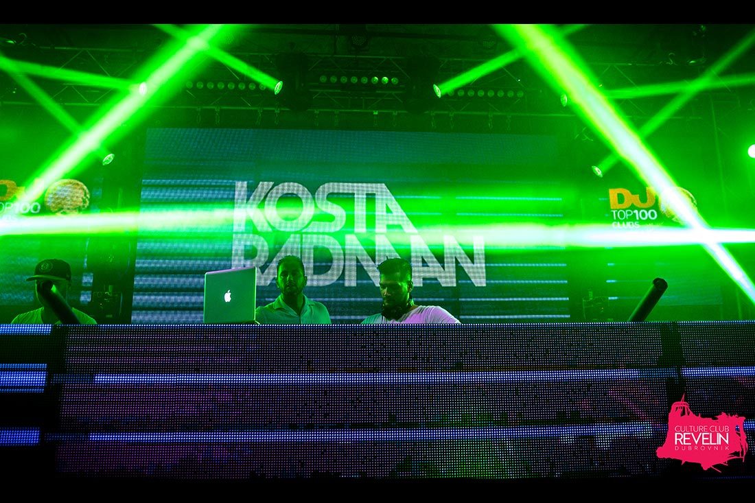 Sunday Funday presents Kosta Radman, Culture Club Revelin Dubrovnik, June 17th, 2018.