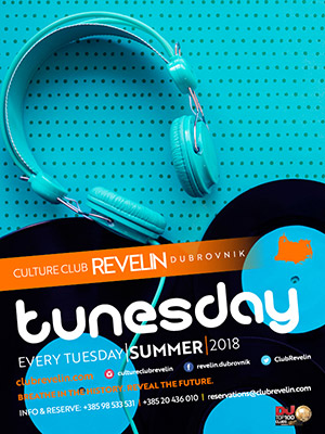 Club Night Tunesday, every Tuesday, nightclub Revelin