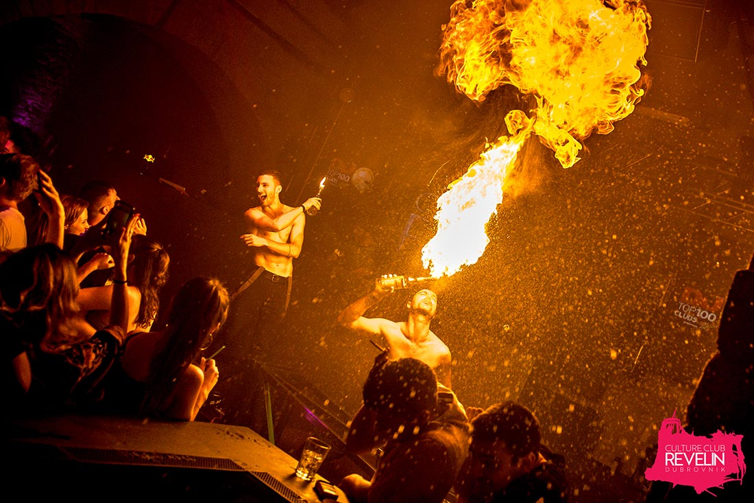Fire Show, Why Not, June 13th 2018, Revelin