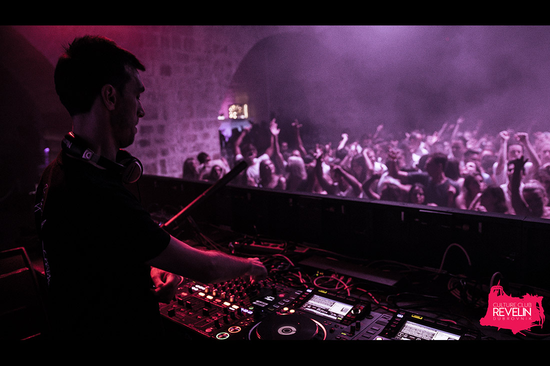 DANCElectric Philipe performing at Camelphat-DANCElectric Residency, Culture Club Revelin Dubrovnik, July 4th 2018