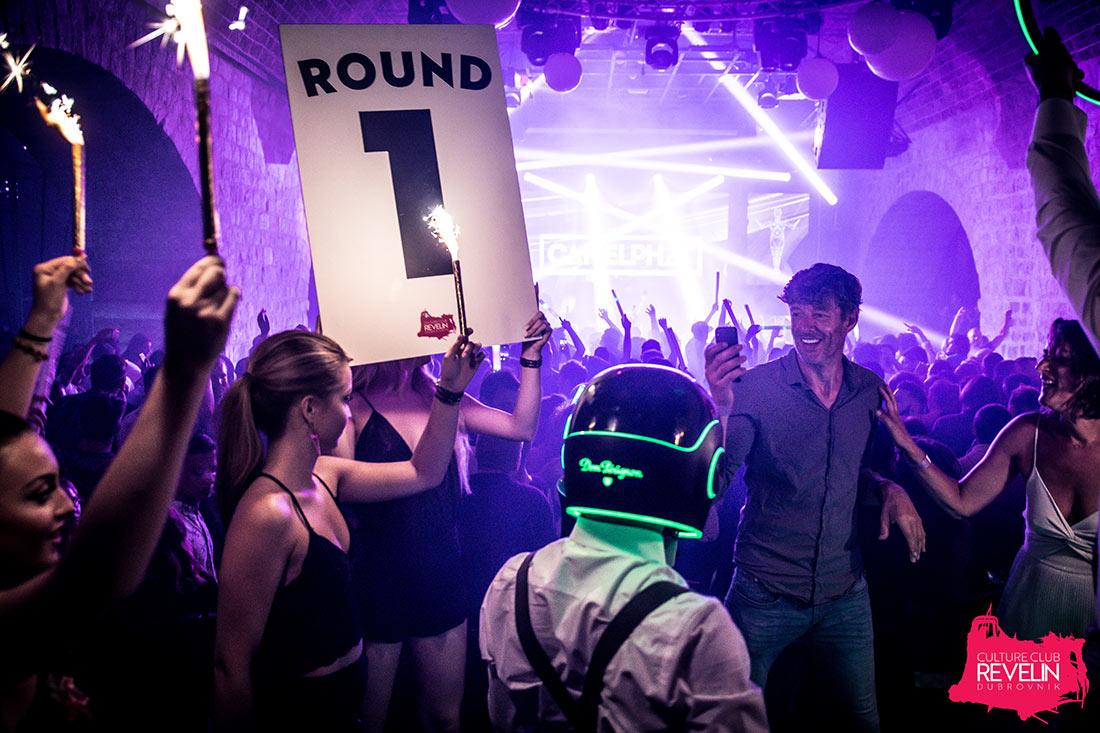 Round 1, Dom Perignon, Revelin nightclub
