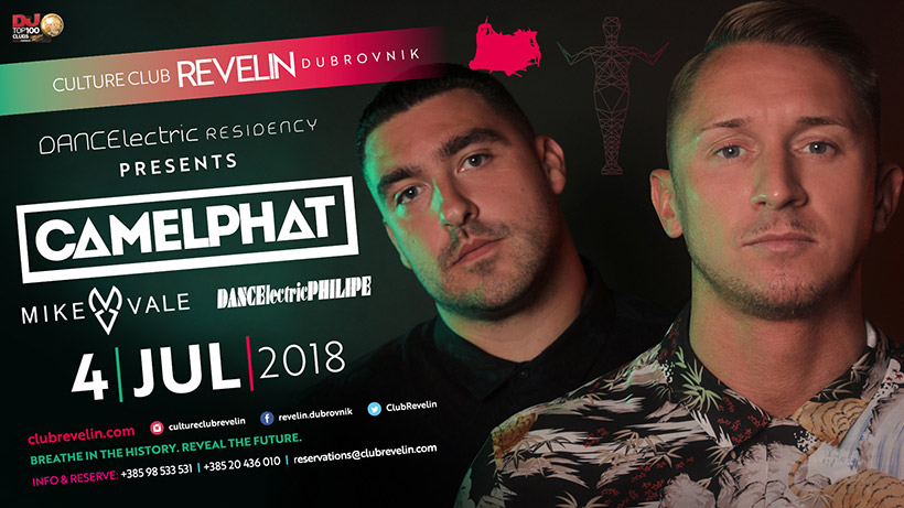DancElectric Residency presents Camelphat, 4th of July, Revelin Dubrovnik