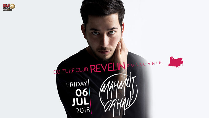 Don't miss Mahmut Orhan this Friday at Revelin