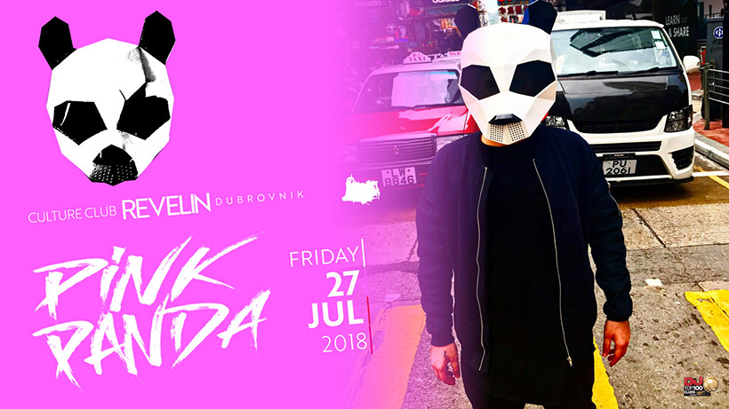 Pink Panda in Culture Club Revelin, Dubrovnik nightclub, Friday, July 27th