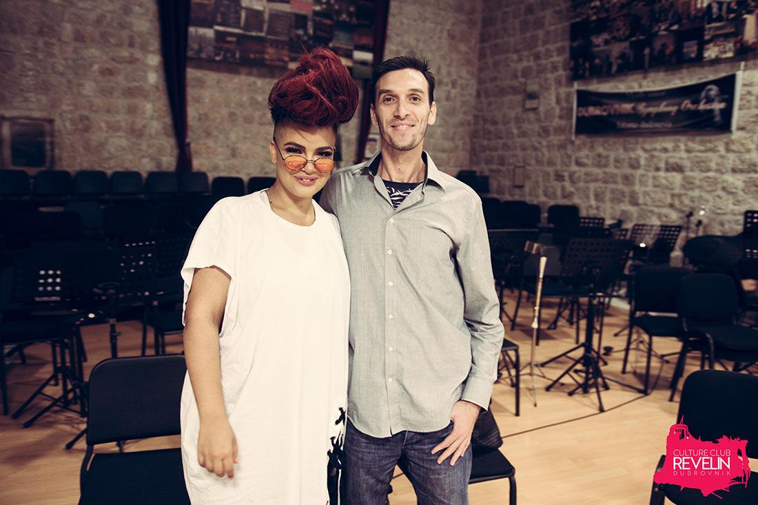 DANCElectric Philipe with Eva Simons in Revelin nightclub