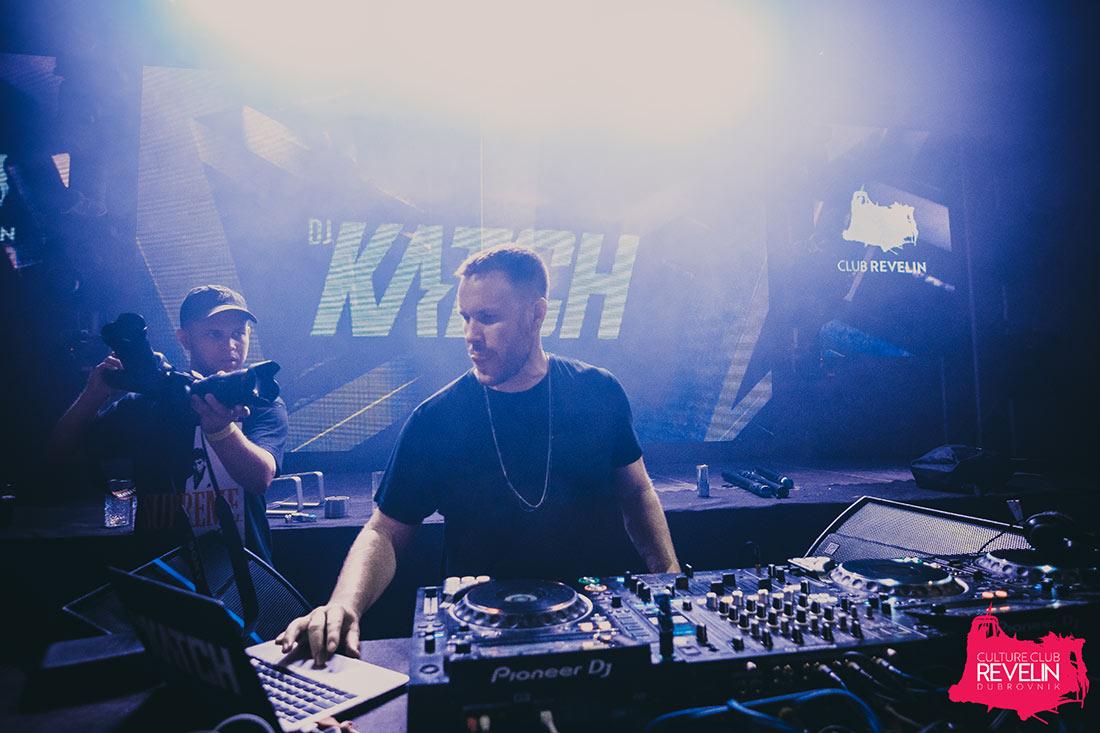 DJ Katch, the Blackout festival, Dubrovnik 2018