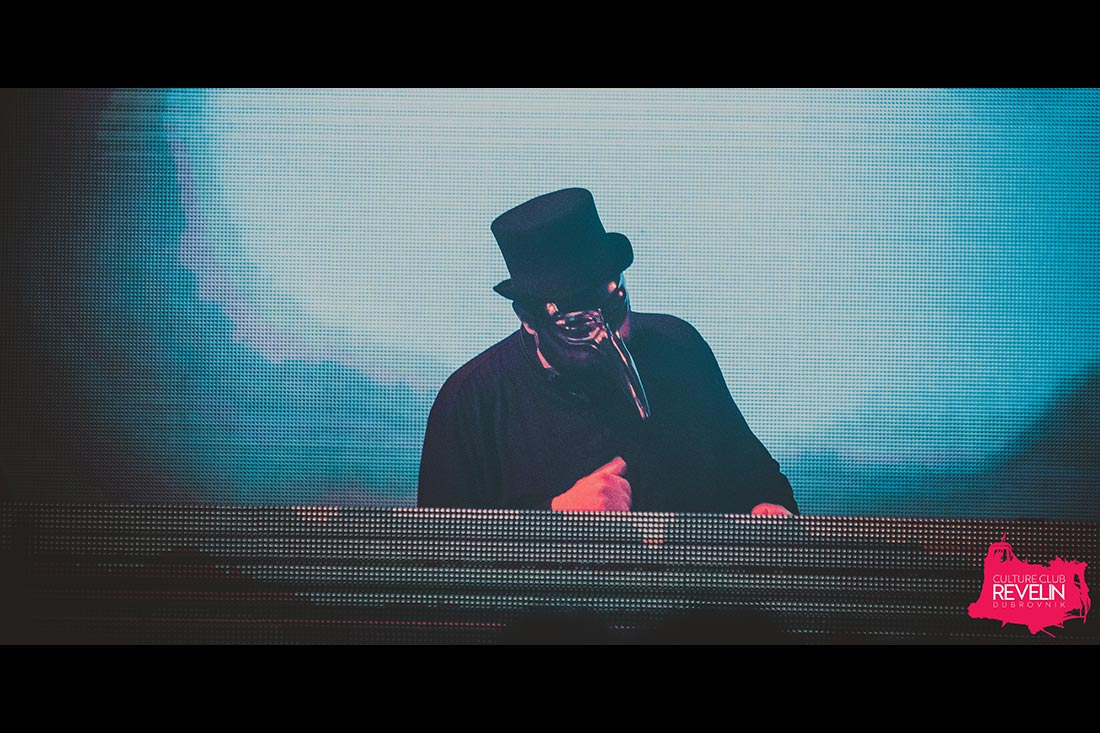 Claptone on Revelin stage