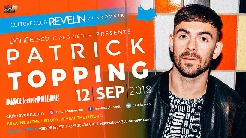 September 12th, Patrick Topping, Revelin Dubrovnik