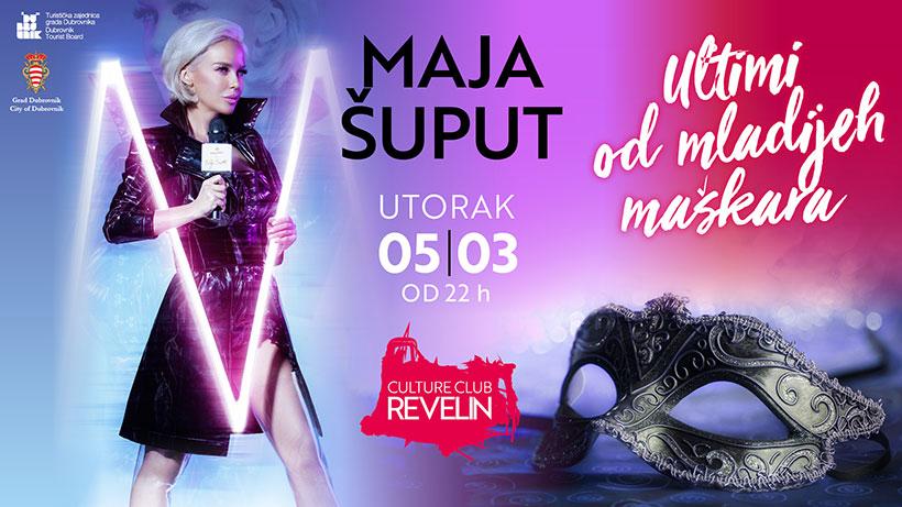 Maja Šuput, Culture Club Revelin Dubrovnik, utorak 05. ožujka 2019