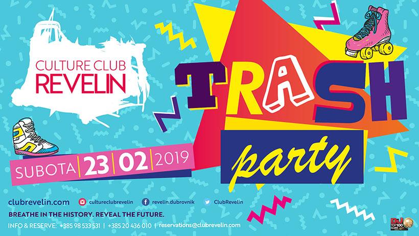 Ne propustite najbolju zabavu uz Trash Party u Revelinu, 23.02.019