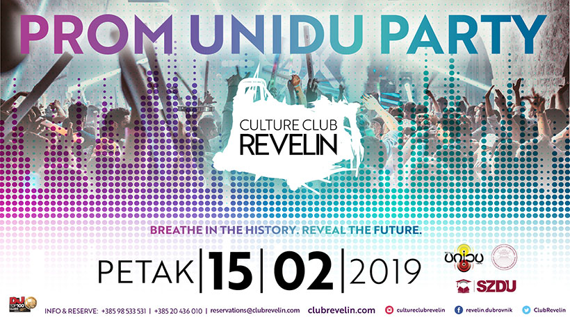 UNIDU PROM PARTY, 15.02.2019, Culture Club Revelin