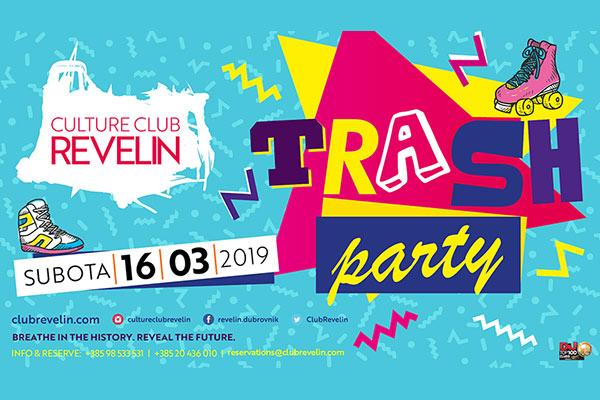 Trash Party - 90te - 16.03.2019 Revelin