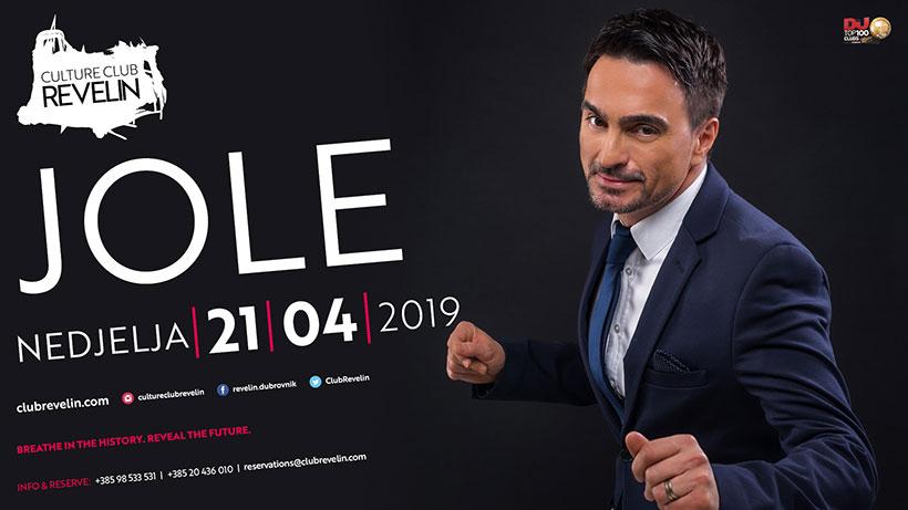 Ne propustite koncerte u Revelinu, Jole 21.travnja 2019