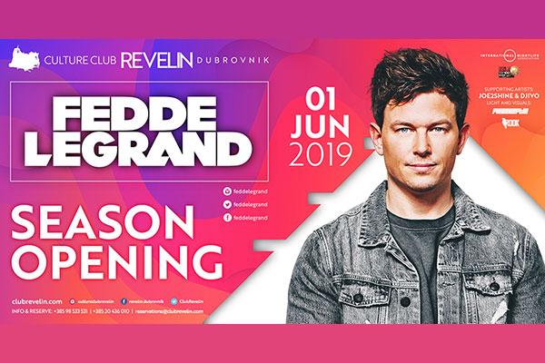 Fedde Le Grand u Dubrovniku, 01.06.2019
