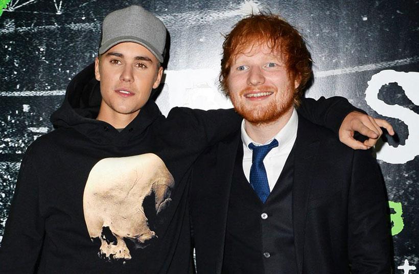 Justin Bieber i Ed Sheeran I don't care singl