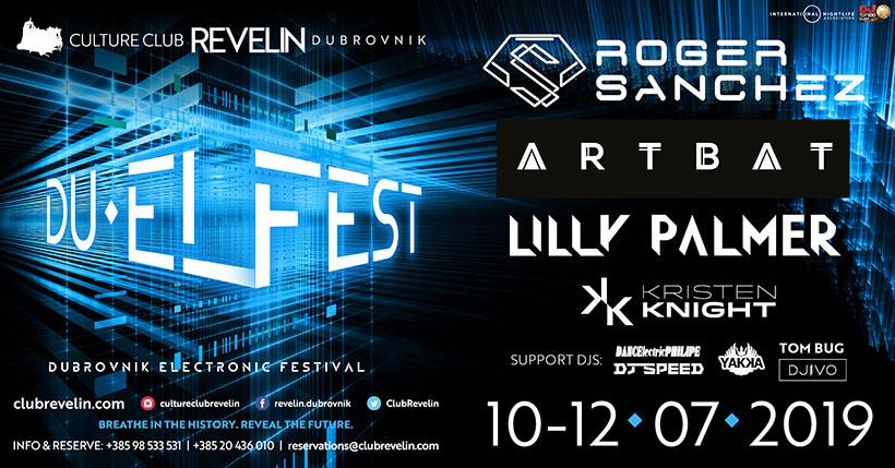 DU EL FEST 2019, Culture Club Revelin, 10-12 July