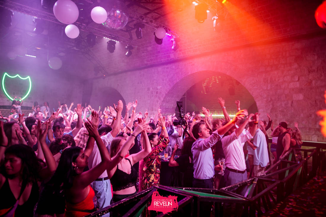 Sunday is a funday at Revelin nightclub, Dubrovnik