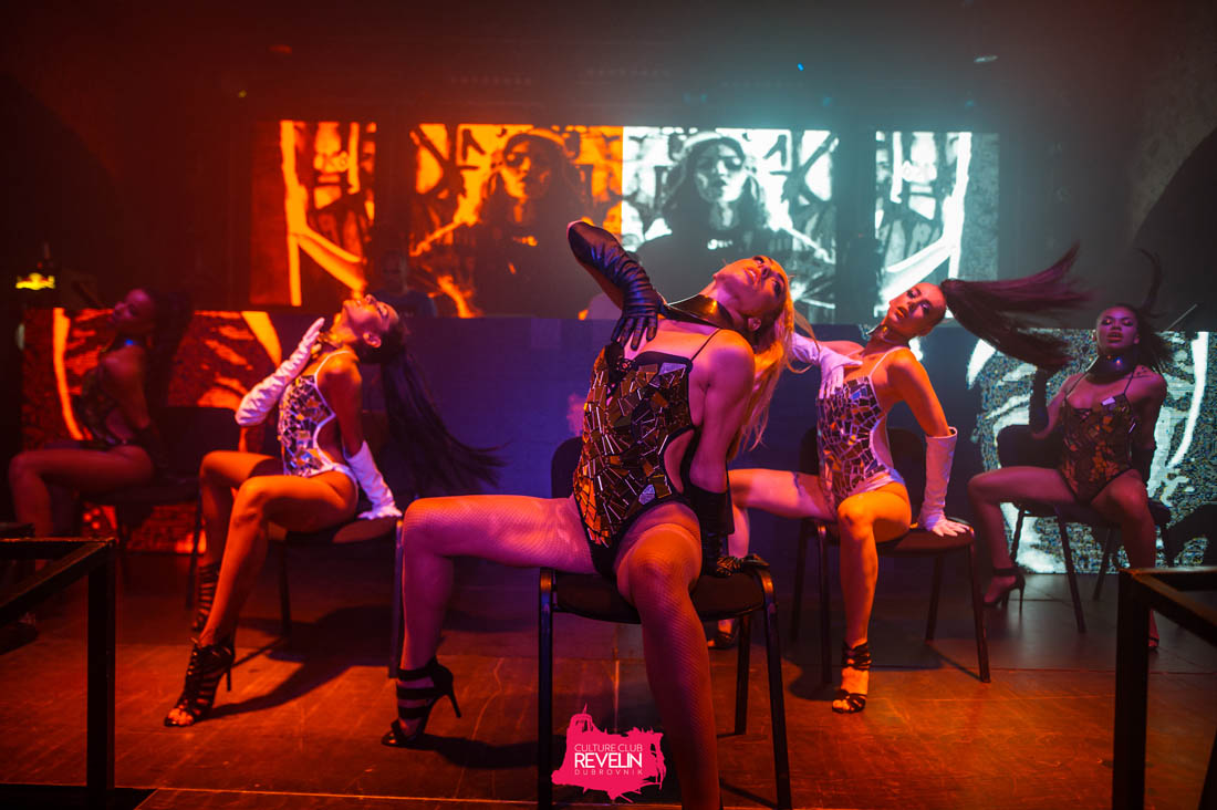 Dance show at The Vibe club night