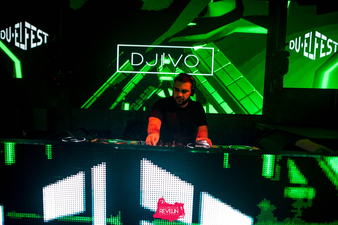DJIVO on stage for DU-EL Fest 2019