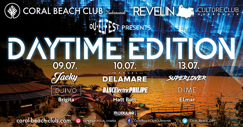 DU-EL FEST daytime edition at Coral Beach Club