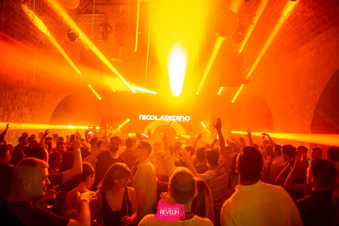 laser show, Nicola Fasano, nightclub Revelin, Dubrovnik