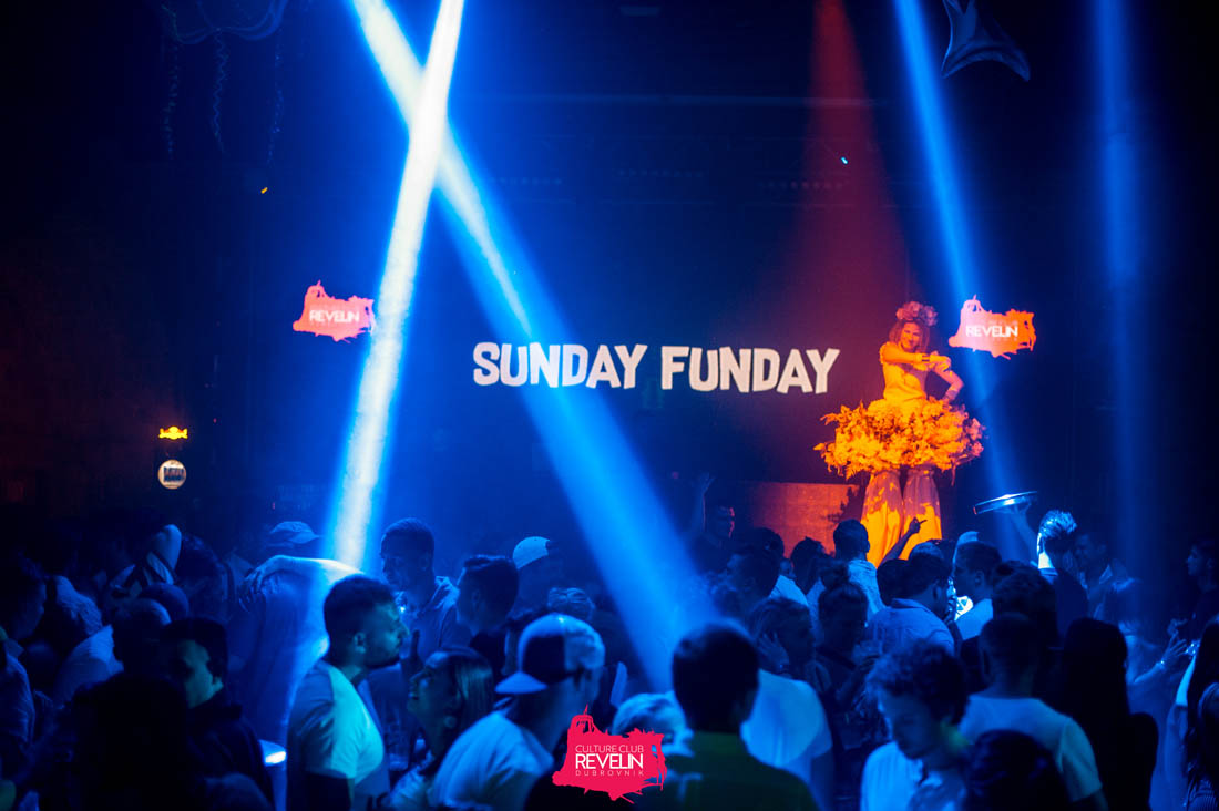 Sunday is a funday in Revelin nightclub