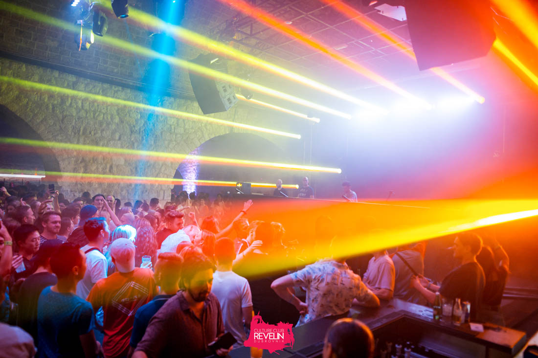 spectacular light show for Tunesday club night