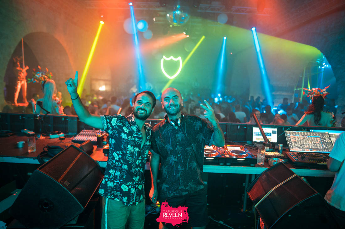 Nicola Amoroso and Danny Roma at Revelin stage