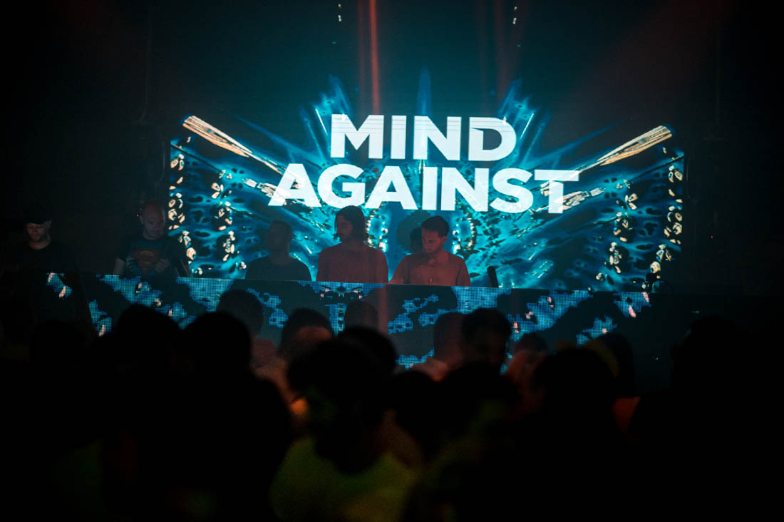 Mind Against on Revelin stage, DancElectric Residency