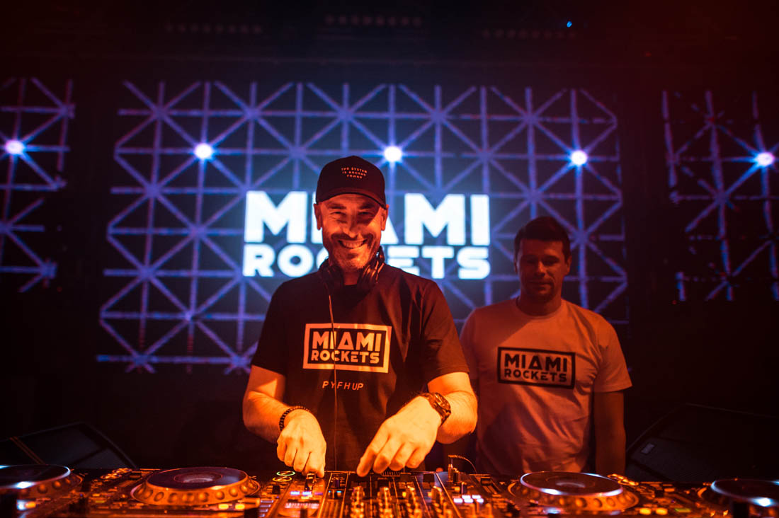 Miami Rockets at Revelin stage
