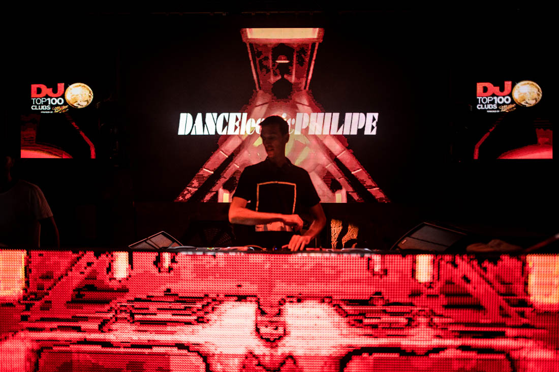 DancElectric Philipe on stage