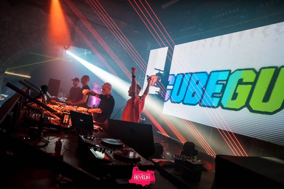 The Cube Guys on Revelin stage