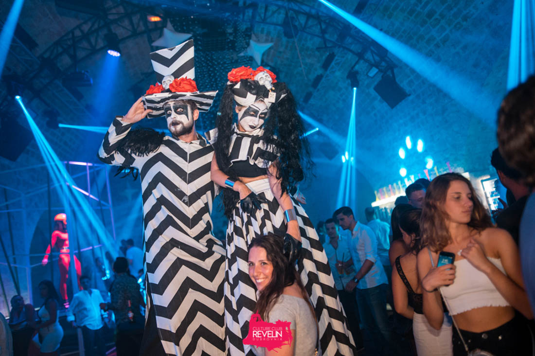 scenes from Revelin nightclub
