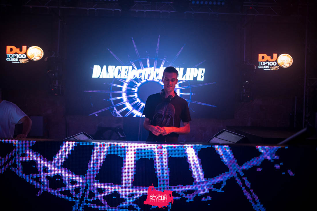 DANCElectric PHILIPE performing at Tunesday club night
