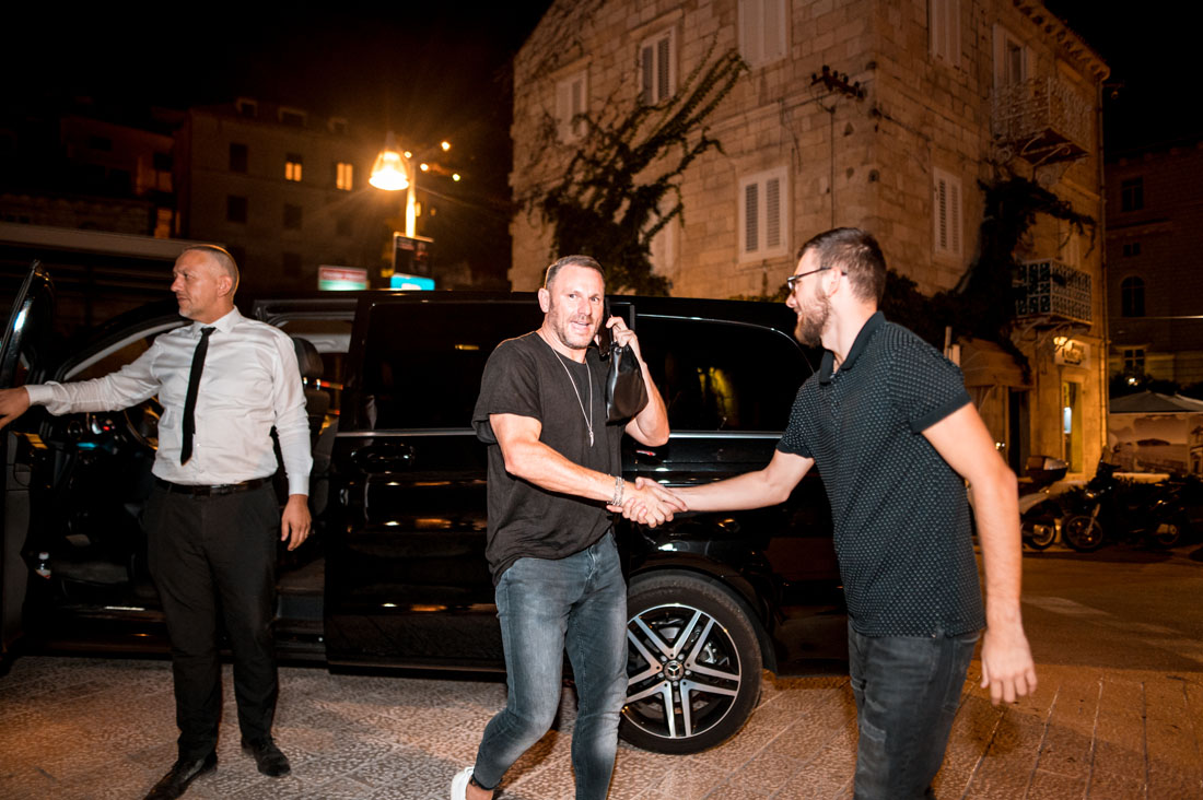 Mark Knight has arrived to Dubrovnik old town