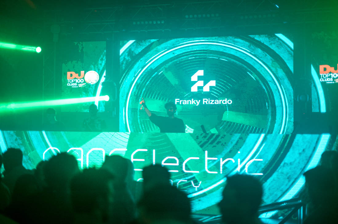 Franky Rizardo at Dancelectric Residency 2019, Revelin nightclub