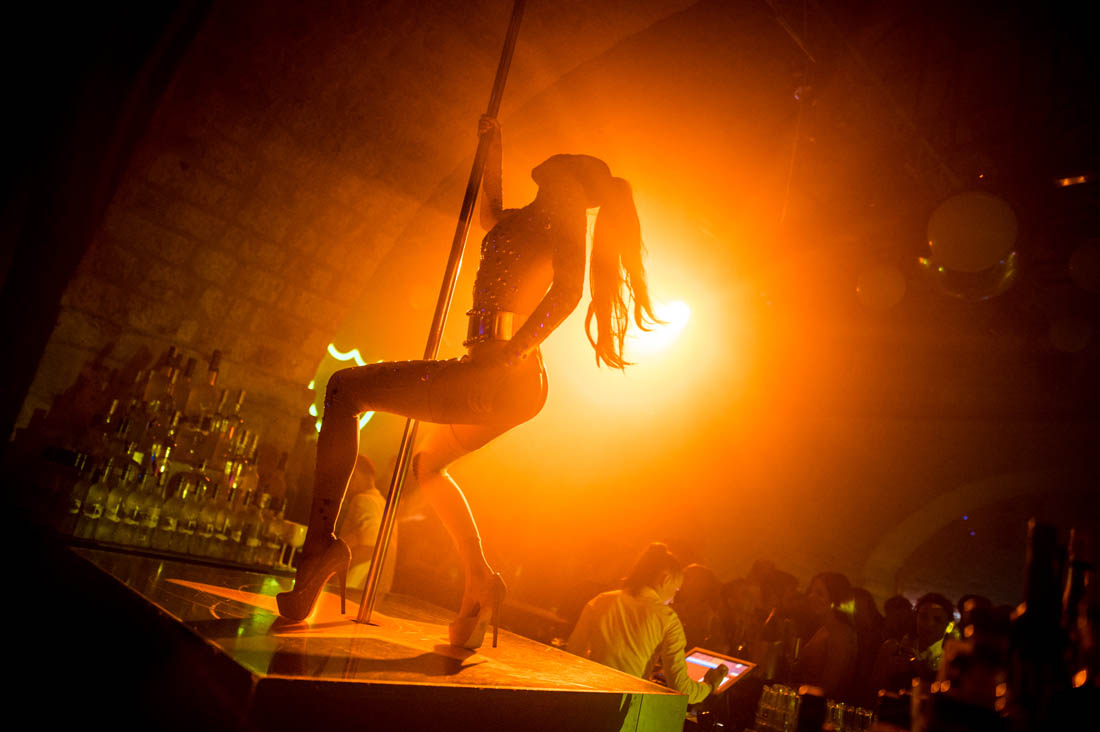 dancer at Revelin nightclub