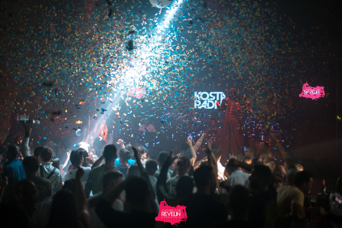 Kosta Radman performing on Tunesday club night