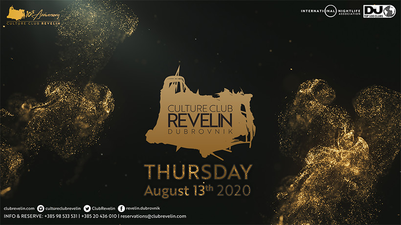Culture Club Revelin reopening night August 13th 2020